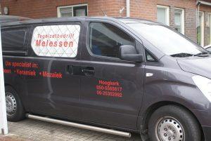 tegelzetter Groningen, auto tegelzetbedrijf melessen